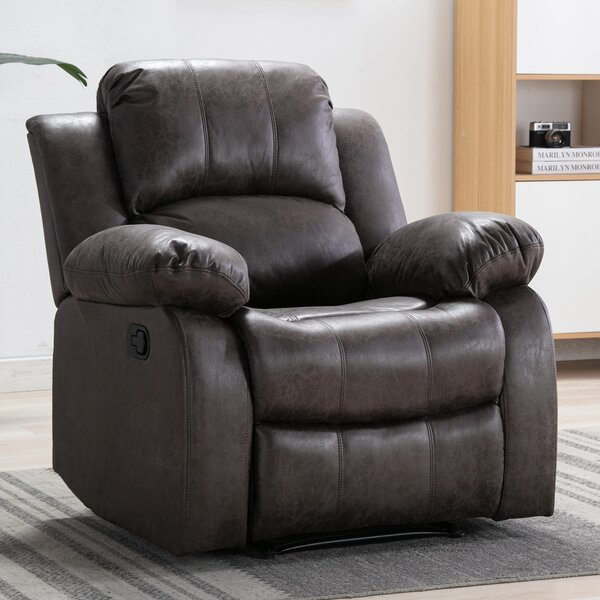 Trachoni Faux Leather Manual Recliner W003411809