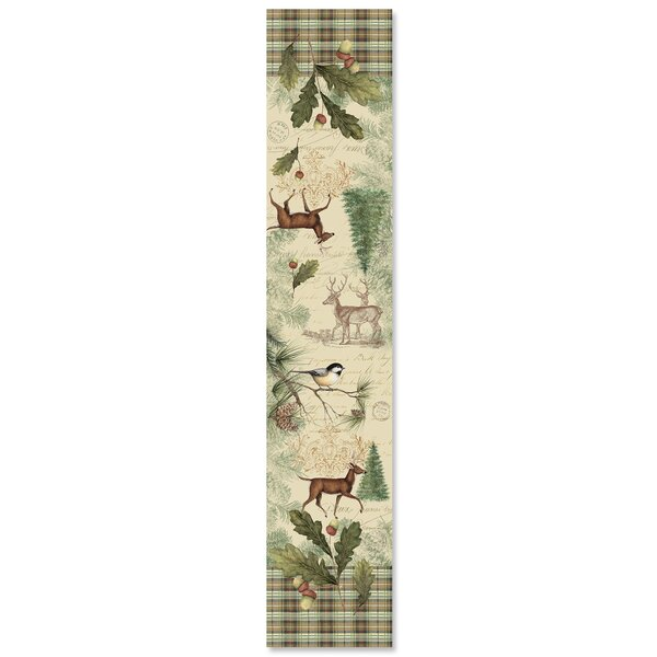 Allee Woodland Forest Table Runner by Loon Peak