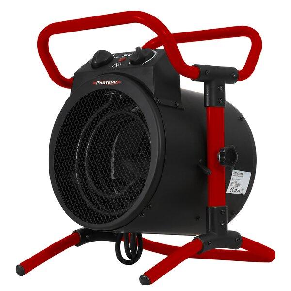 Electric Fan Utility Heater By Pro-Temp