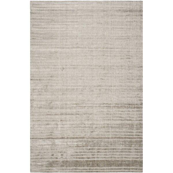 Alaina Hand- Knotted Slate Area Rug by Williston Forge