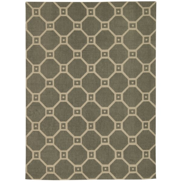 Color Motion Ferris Wheel Stone Area Rug by Waverly