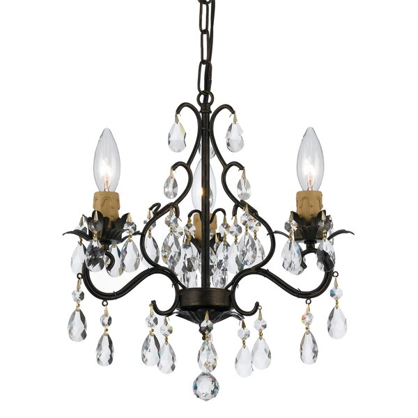Clifton 3-Light Candle Style Chandelier by Alcott Hill