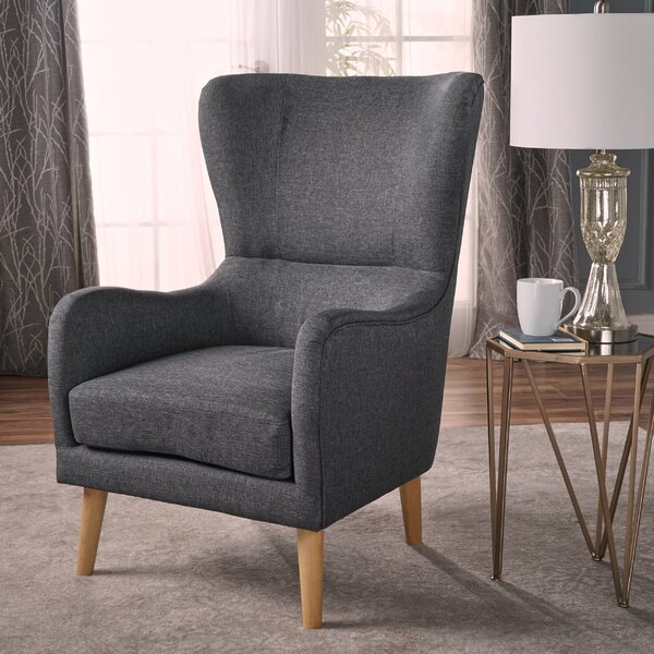 Preusser Wingback Chair by Wrought Studio