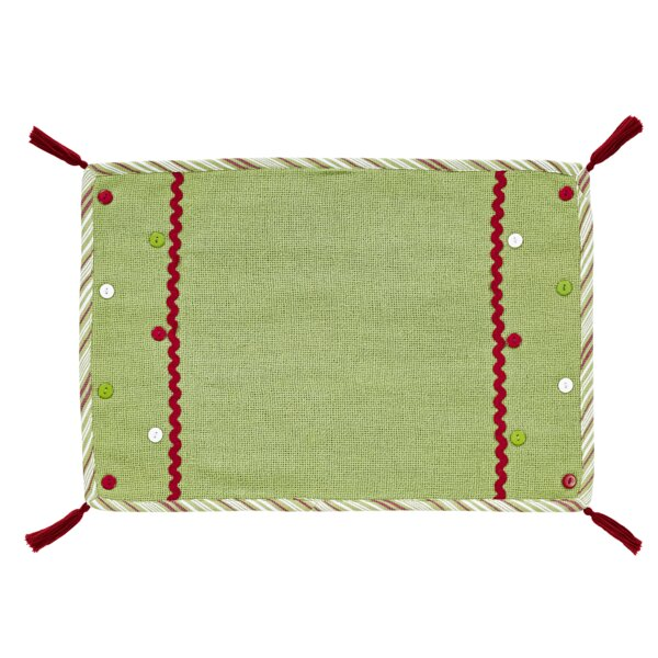Whimsical Christmas Placemat (Set of 6) by The Holiday Aisle