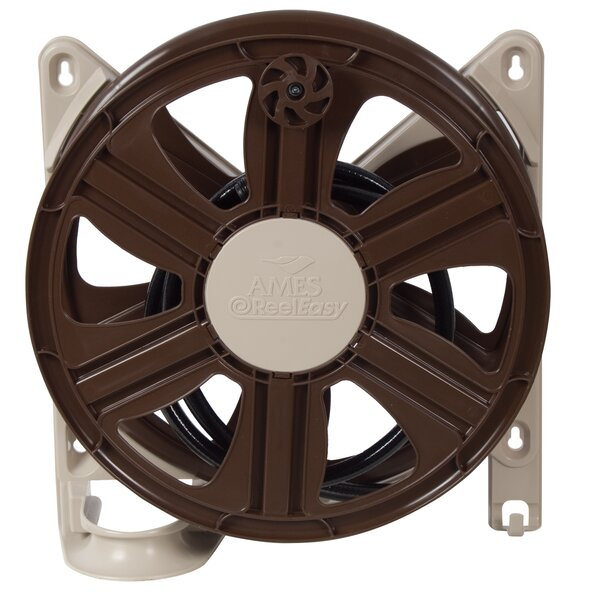Plastic Wall Mounted Hose Reel by Ames