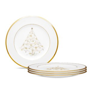 Palace Christmas Gold 8.5  Holiday Accent Plates (Set of 4)  sc 1 st  Wayfair & Christmas and Holiday Plates Youu0027ll Love | Wayfair