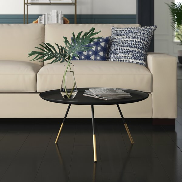 Orson 3 Legs Coffee Table By Mercury Row