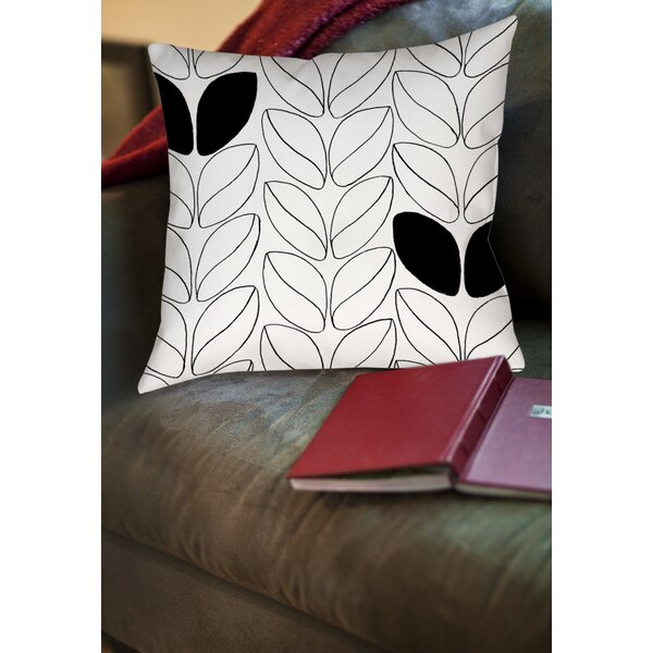 Divisible 2 Printed Throw Pillow by Manual Woodworkers & Weavers