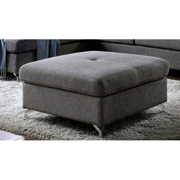 Bayless Tufted Ottoman by Orren Ellis