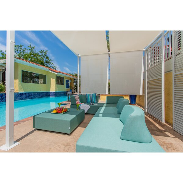 Merkley Outdoor 7 Pieces Sectional Seating Group with Cushions by Latitude Run
