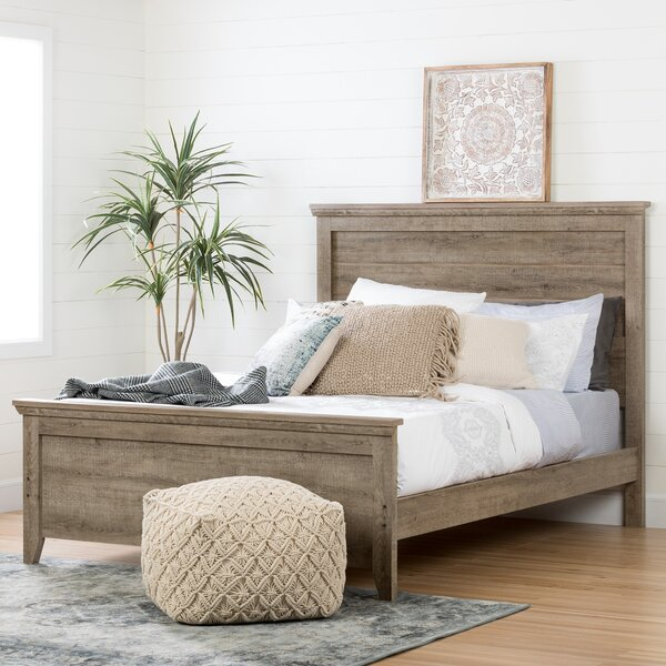 Lionel Queen Platform Bed by South Shore