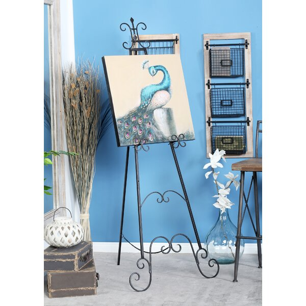 Traditional Scrolled Tripod Easel by Cole & Grey