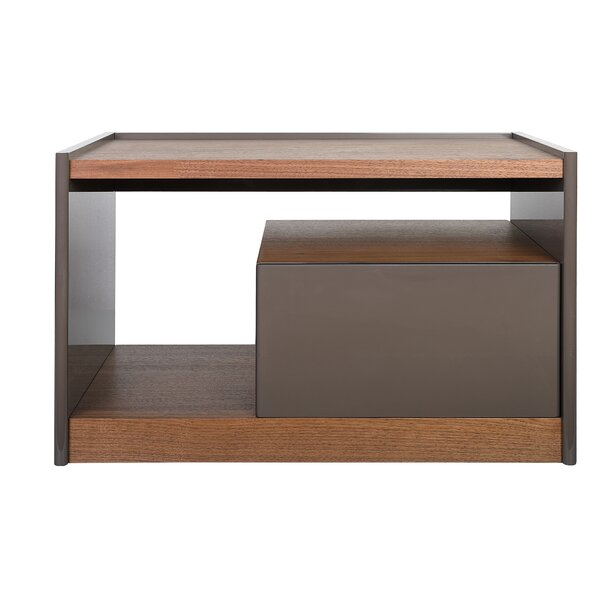 Tara Modern 1 Drawer Nightstand by Latitude Run