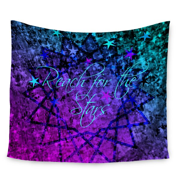 Reach For The Stars by Ebi Emporium Wall Tapestry by East Urban Home
