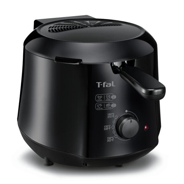 1.2 Liter Cool Touch Mini Fryer by T-fal