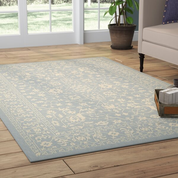 Phineas Light Blue Indoor/Outdoor Area Rug by Andover Mills