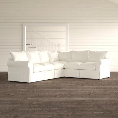 Birch Lane Heritage Upholstered Shaped Sectional Fabric Sectionals