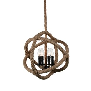 Affordable Catharine 4-Light Globe Chandelier By Longshore Tides