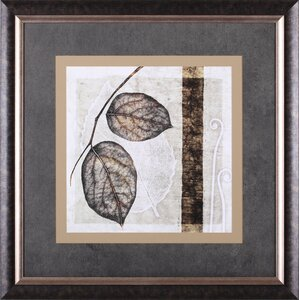 Fall Leaves II by Christine Zalewski Framed Painting Print by Art Effects