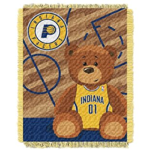 Purchase NBA Pacers Half Court Baby Throw ByNorthwest Co.