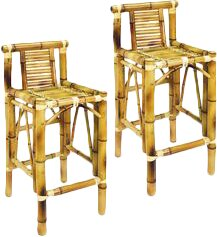 Carrcroft 28 Patio Bar Stool (Set of 2) by Bay Isle Home