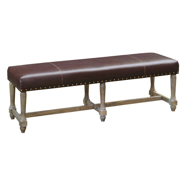 Arne Upholstered Bench by One Allium Way