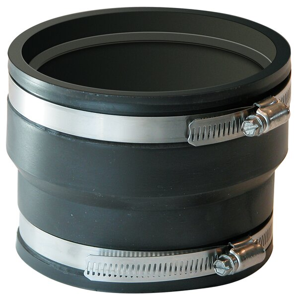 Coupling For Corrugated Pipe by Fernco