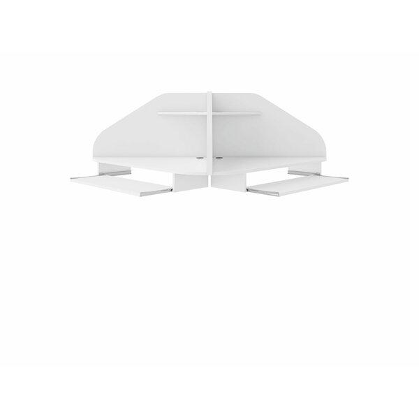 Bewley Corner Floating Desk (Set of 2)