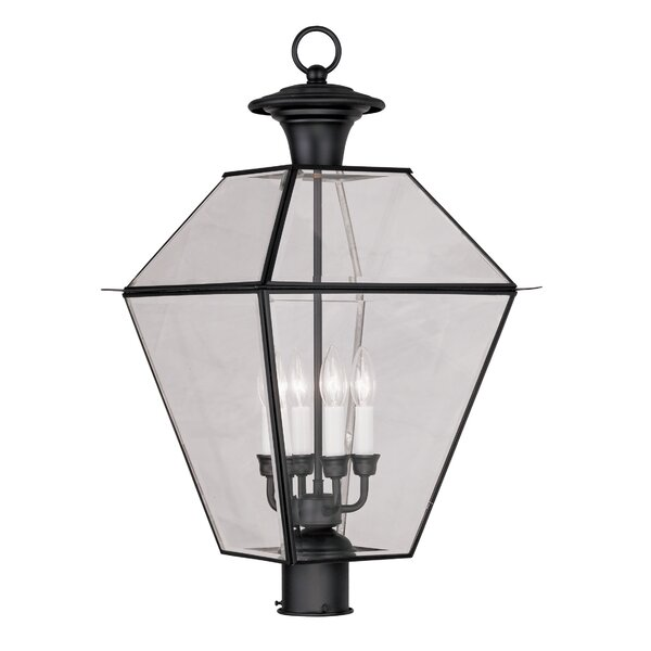Orchard Lane Outdoor 4-Light Lantern Head by Three Posts