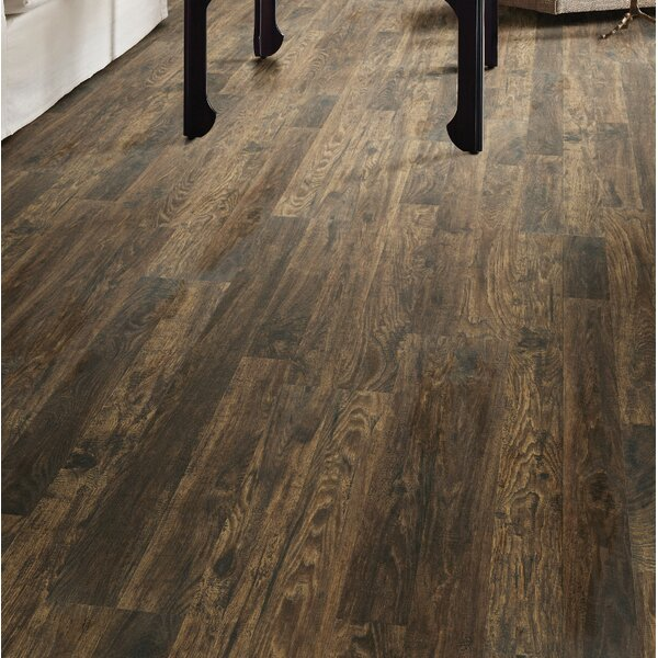 Simple Selects 8 x 51 x 6mm Laminate Flooring in Faith Hickory by Shaw Floors