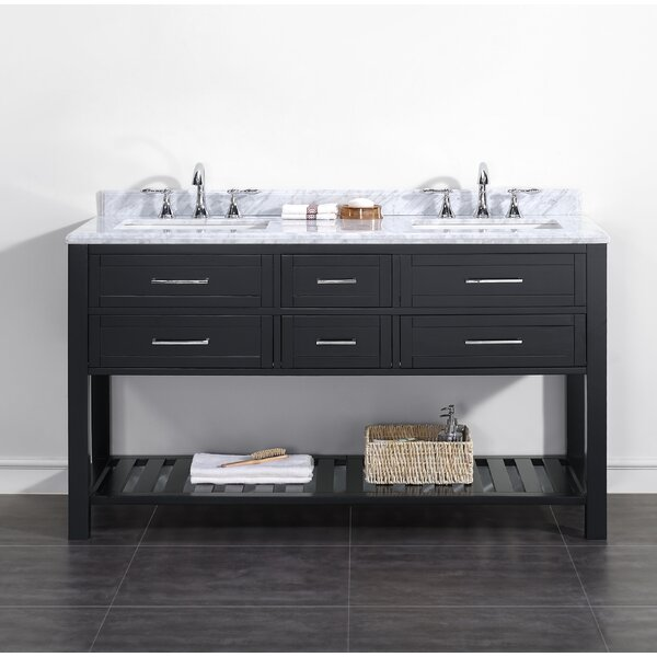 Sarasota 60 Double Bathroom Vanity Set by Ove Decors