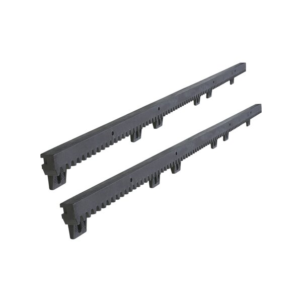 Fiber-Glass Reinforced Nylon Gear Rack (Set of 2) by ALEKO