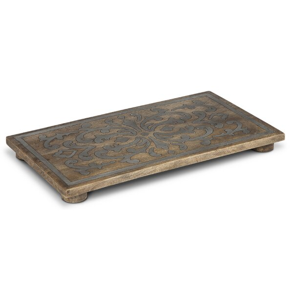 Rectangular Wood Trivet by The GG Collection