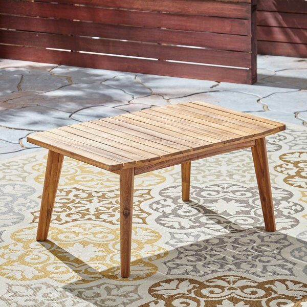 Eller Solid Wood Coffee Table By George Oliver by George Oliver Best #1