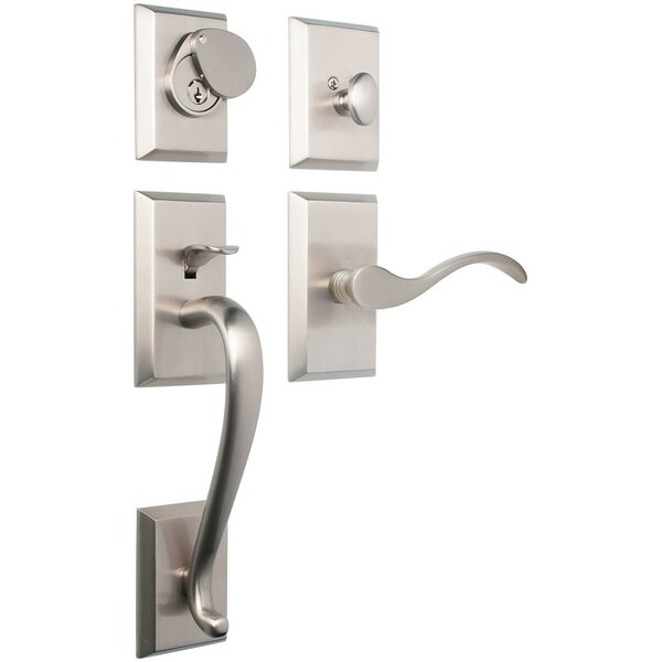 Premium Savoy Single Cylinder Handleset by Rockwell Security