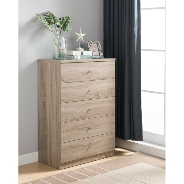Kratochvil Utility 5 Drawer Chest by Ebern Designs