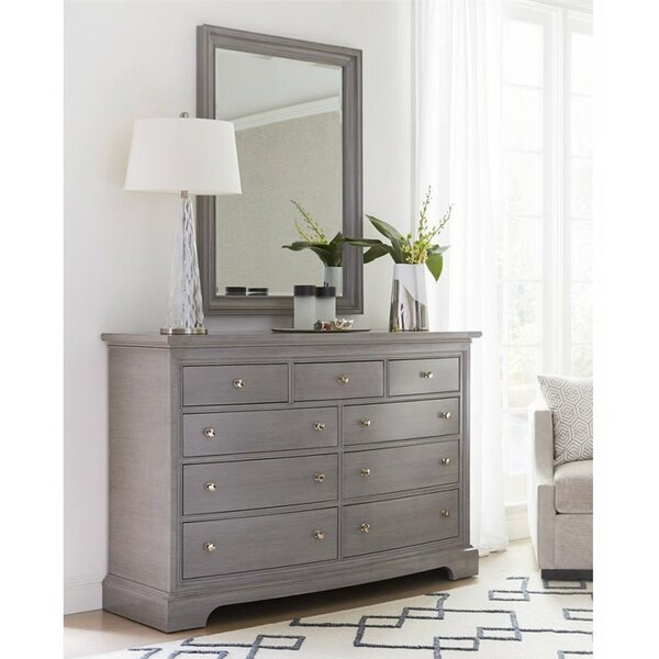 Transitional Rectangular Dresser Mirror by Stanley Furniture