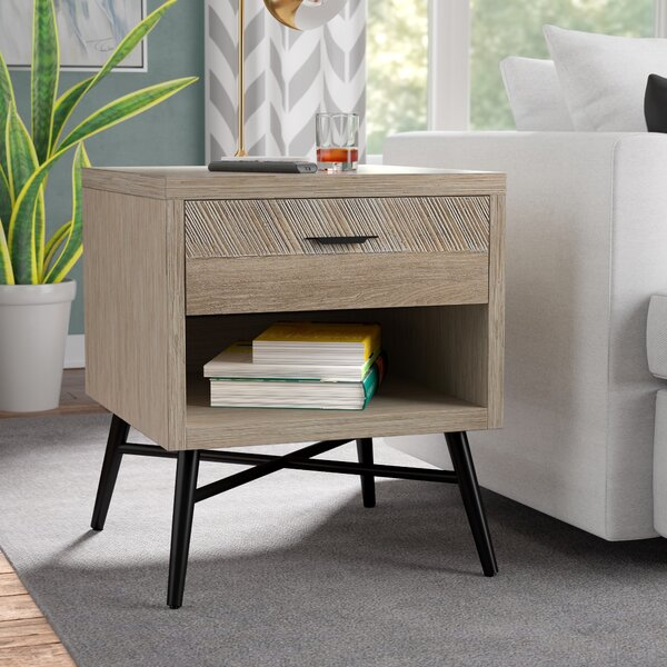 Laquita End Table by Brayden Studio