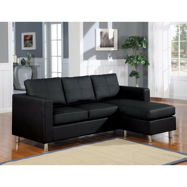 Get Premium Deimel Reversible Right Hand Facing Sectional by Orren Ellis by Orren Ellis