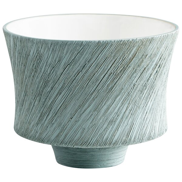 Selena Slab Ceramic Pot Planter by Cyan Design