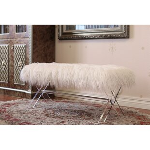 Shop For Vosburgh Rectangle Upholstered Bench By House of Hampton