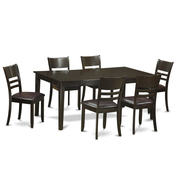 #2 Henley 7 Piece Dining Set By Wooden Importers Wonderful