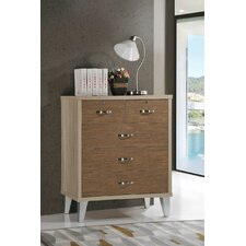 5 Drawer Chest of Drawers by Hometime