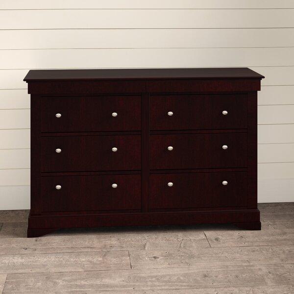 McLelland 6 Drawer Double Dresser by Alcott Hill