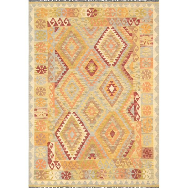 Kilim Hand-Knotted Area Rug by Pasargad