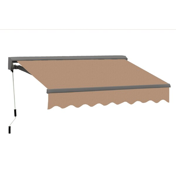 Classic Series 16.5 ft. W x 10 ft. D Retractable Patio Awning by Advaning