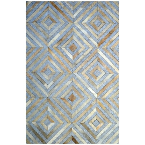 Hand-Woven Gray / Ivory Area Rug by Eastern Weavers