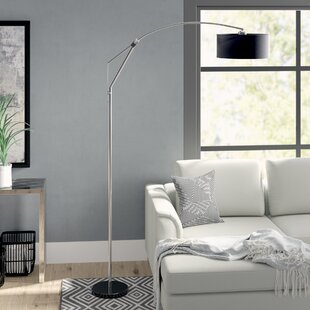 Affordable Price Leonardo 80 Arched Floor Lamp By Wade Logan