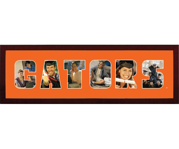 NCAA Florida Gators Spirit Collage Photo Picture Frame by Campus Images