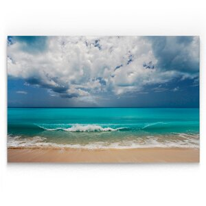 'Leeward Island' Photographic Print on Wrapped Canvas by Highland Dunes